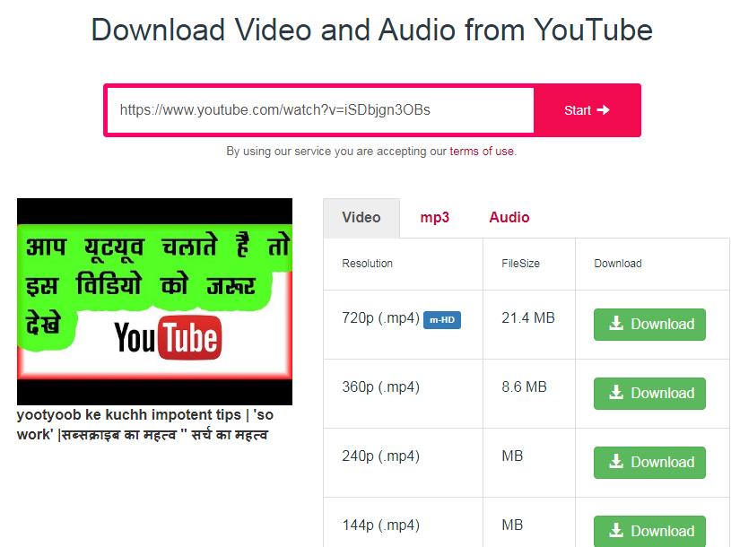 Youtube se video download karne ka tarika bataye
