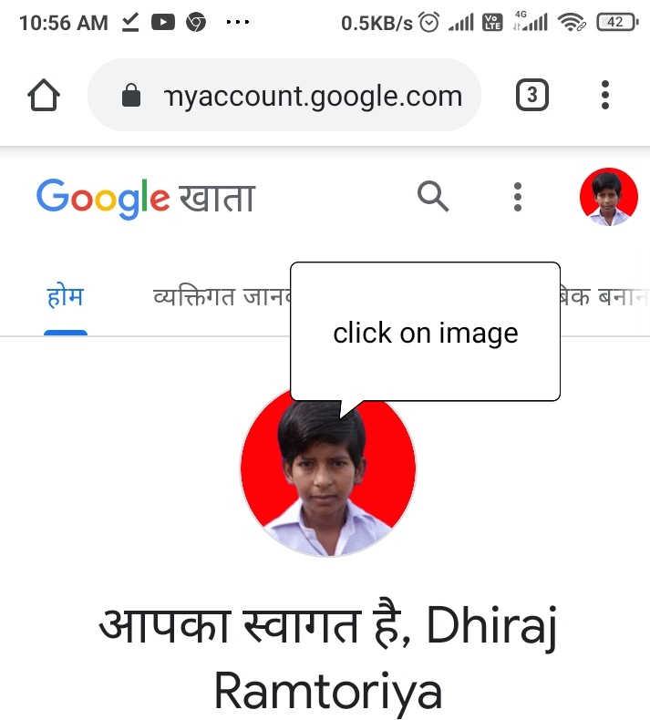 Set Profile Picture Google Account
